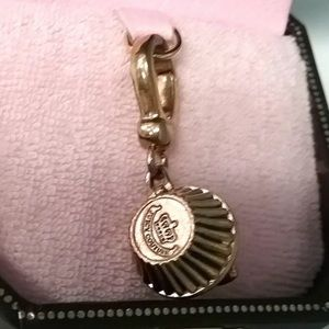 Juicy Couture Jewelry - Juicy Couture Pink Cherry Cupcake Locket Charm ✨